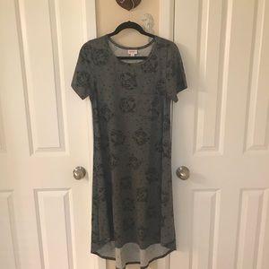 NWOT Lularoe Carly dress 👗 🐯 tiger print small